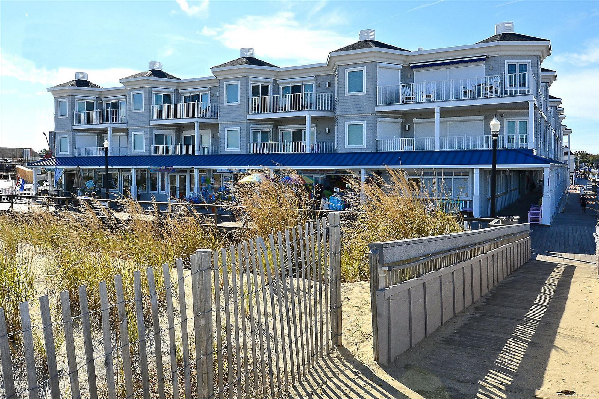 Amenity,Blue Surf Front Elevation,
